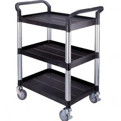 Trays, trolleys and carriers