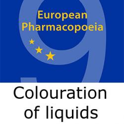 European Pharmacopoeia colouration of liquids