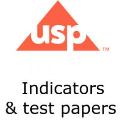 US Pharmacopoeia indicators and test papers