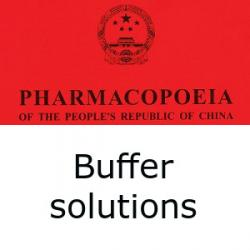 Chinese Pharmacopoeia buffer solutions
