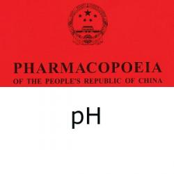 Chinese Pharmacopoeia determination of pH