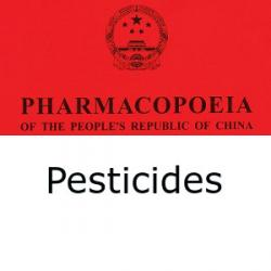 Chinese Pharmacopoeia determination of pesticide residues