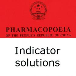 Chinese Pharmacopoeia indicator solutions