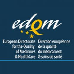 European Pharmacopoeia (Ph. Eu.) EDQM list of pharmaceuticals